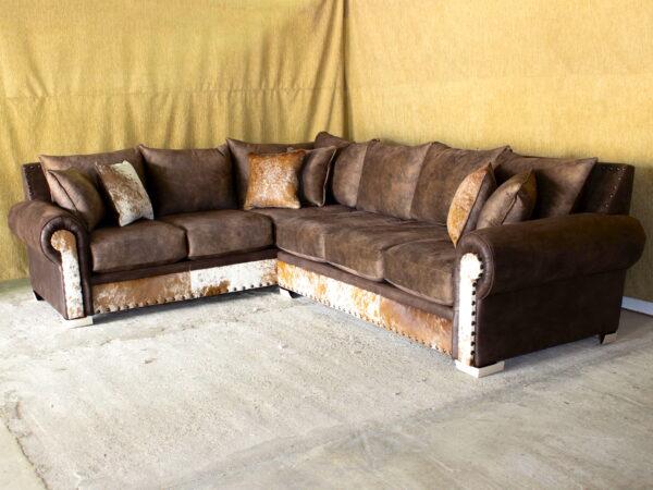 "Harley Sectional Sofa with 40"" Ottoman"