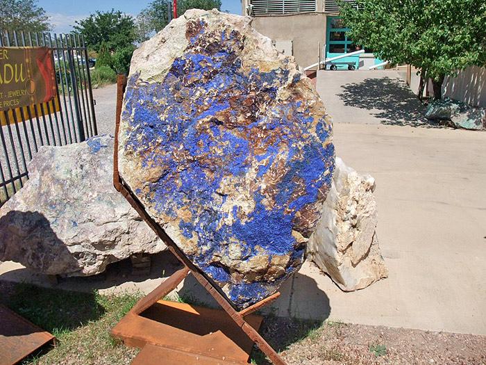 Azurite Sculpture