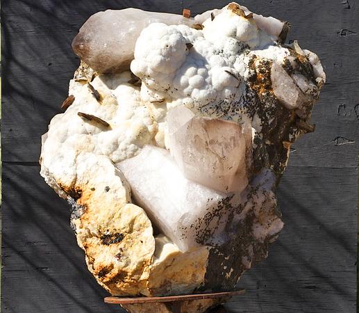 Huge Crystal Cluster