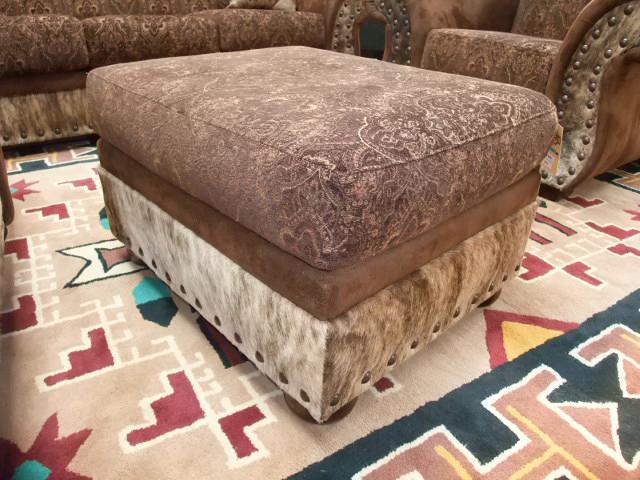 Tapestry Ottoman