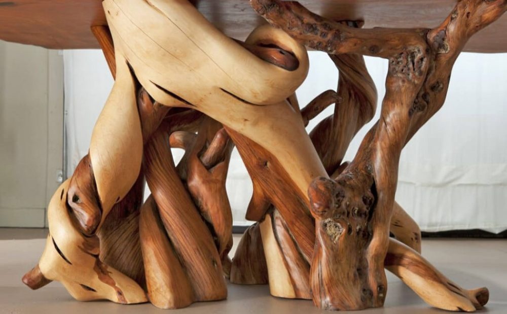 Nature's art of Juniper Tables